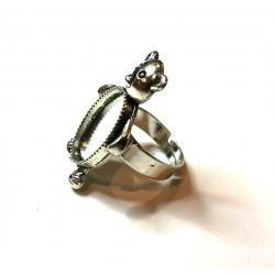 Support bague forme ours